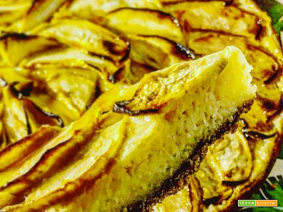 Torta di Mele cheesecake style