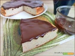 Torta Fiocco di Cocco Glassata e Senza Glutine