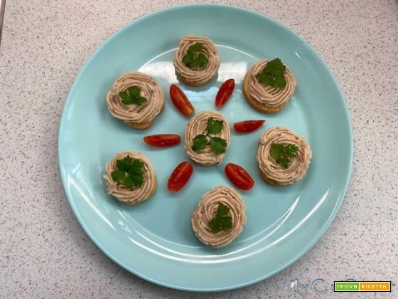 Patè di fagioli con Companion Moulinex