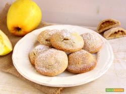 Biscotti ripieni alla mela vegan
