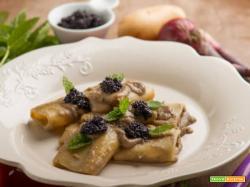 Paccheri con asparagi e caviale: un primo raffinato