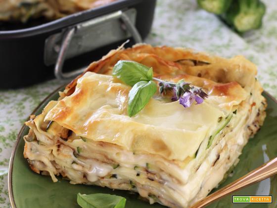 Lasagne con Taleggio e Zucchine