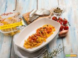 Tagliatelle rustiche al sugo di trota: un piatto sfizioso