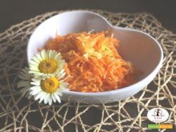Insalata di carote e Grana Padano di Maura