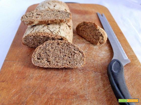 Pane integrale No-knead bread
