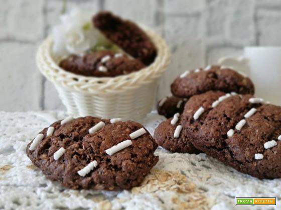 Biscotti integrali ai fiocchi di Avena