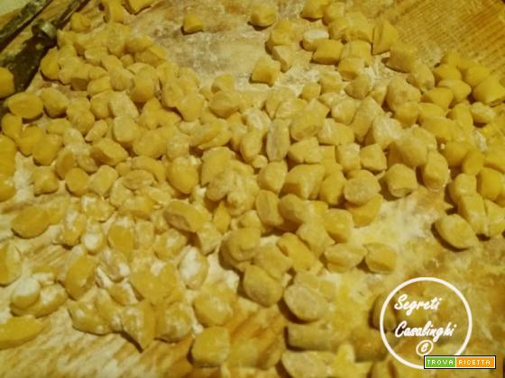 gnocchi zafferano ricetta base