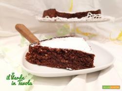 Torta tenerina con cioccolato e noci, senza zucchero e farina la ricetta