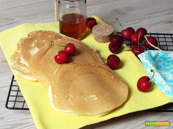 Pancake fritelle dolci pronte in 5′