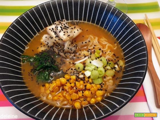 Ramen vegan: ricetta infallibile con un brodo buonissimo