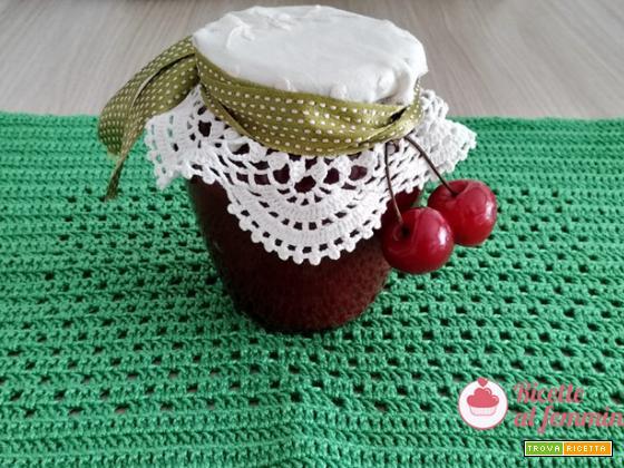 Marmellata di ciliegie con il bimby