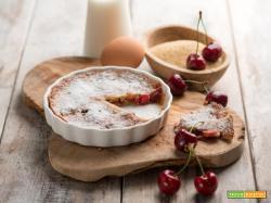 Clafoutis alle ciliegie, un dessert della tradizione francese