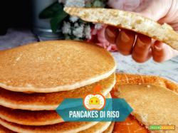 Pancakes di riso al naturale