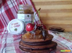 Pancakes al cacao veloci nella bottiglia