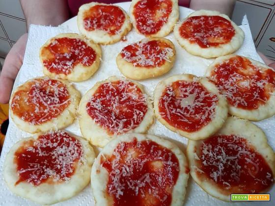 Pizze fritte senza glutine con la farina di OridiSicilia!