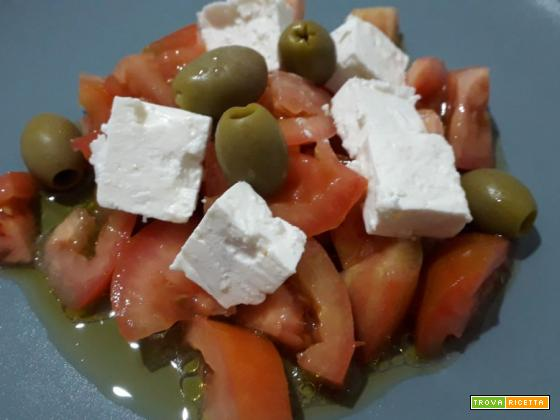 Insalata greca: ricetta veloce