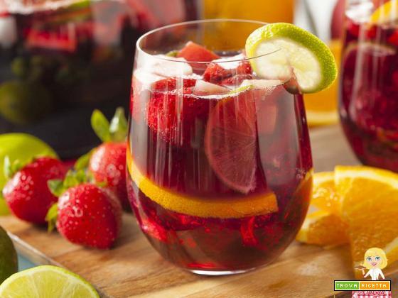 Sangria Spagnola ingredienti ricetta e consigli