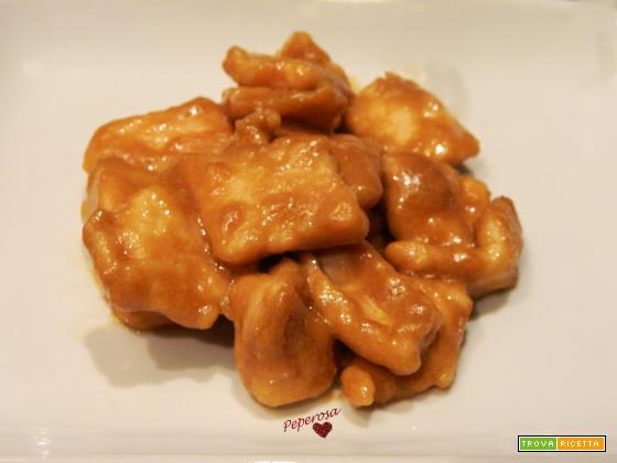 Pollo in salsa di soia