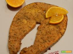 Pesce spada al profumo d'arancia