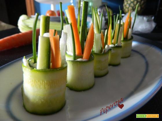 Antipasto di verdure e formaggio