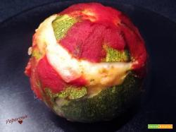 Risotto in zucchina