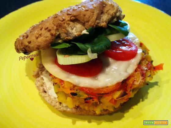 Veggieburger (hamburger vegetariano)