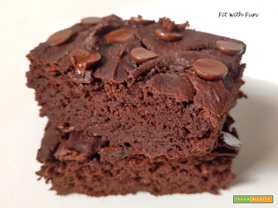 Brownies Vegan 4 Ingredienti Ceci e Mandorle