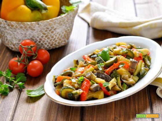 Fricandò di verdure