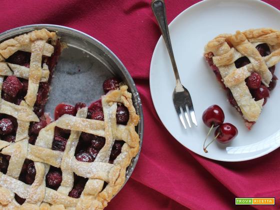 Cherry Pie: torta americana alle ciliegie