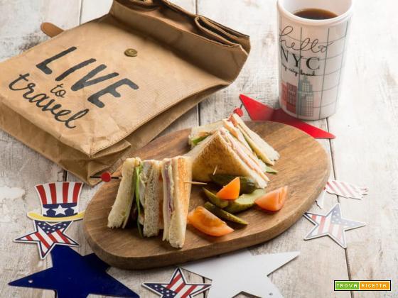 Club Sandwich, una ricetta 100% americana