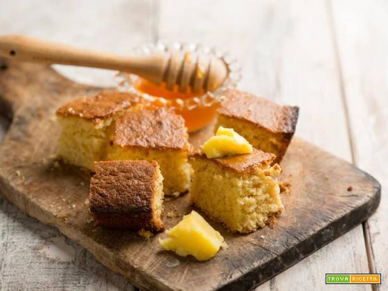 Cornbread al miele, il tradizionale pane dolce americano