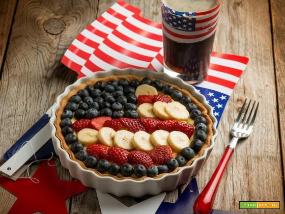 Crostata del 4 luglio, un dolce non proprio americano