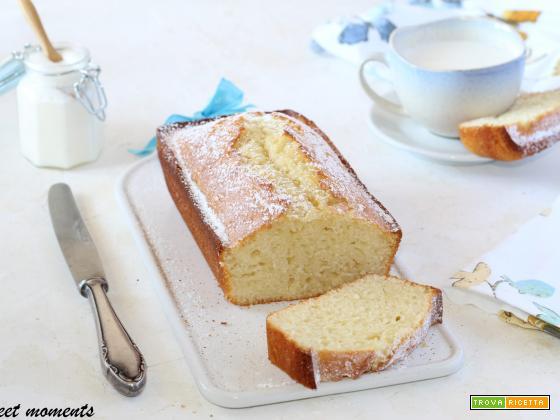 Plumcake con kefir alla vaniglia
