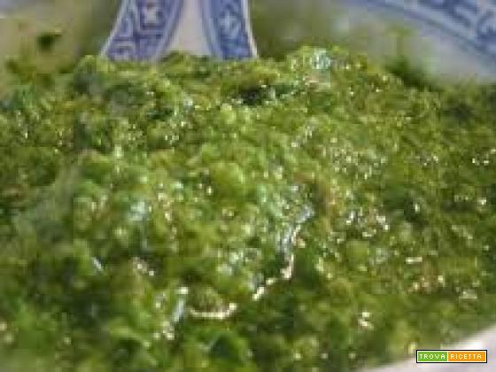 Bagnetto verde piemontese (bagnet verd)