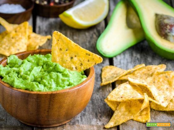 Nachos e guacamole (Messico)