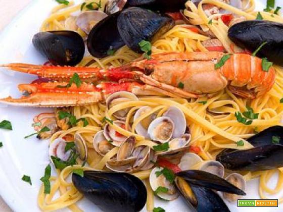 Scialatielli ai frutti di mare (ricetta originale)