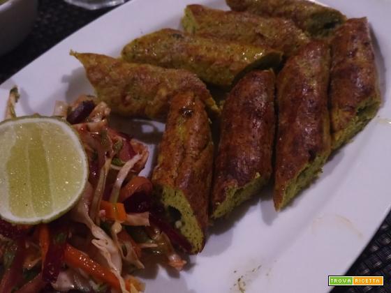 Seekh kebab (kebab a spiedino)