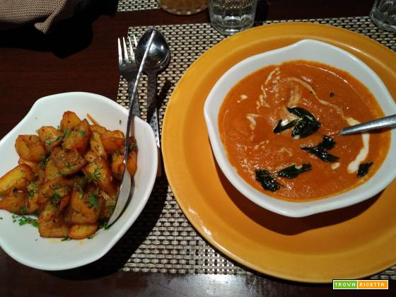 Zuppa di gamberi al curry (Goan prawn curry)