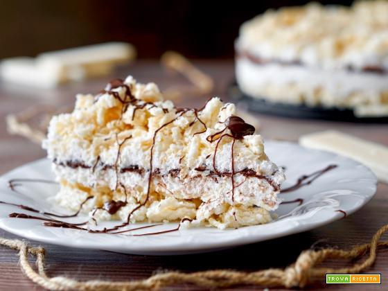 Torta Fredda ai Wafer, Cocco e Nutella