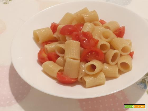 Pasta ai pomodorini, ricetta veloce