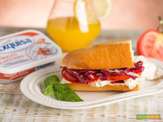 Baguette con formaggio cremoso: uno sfizio delizioso
