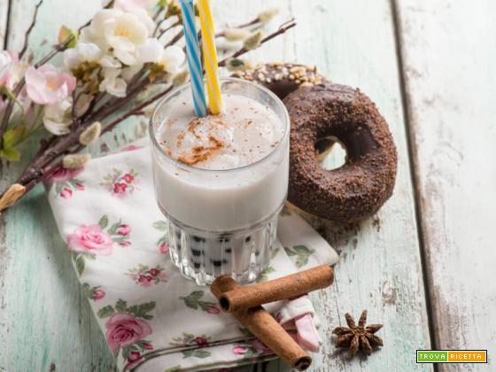 Bubble tea al cocco e tapioca, una bevanda esotica