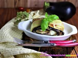 Lasagna di melanzana e tonno