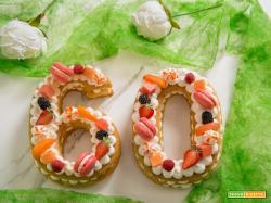 Una Number cake per festeggiare il mio compleanno!