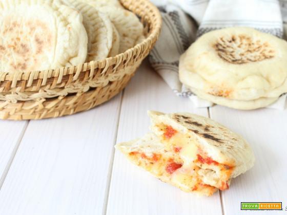 Focaccine alla pizzaiola in padella