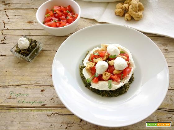 Caprese di mozzarella e pomodori
