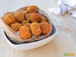 Crocchette di tacchino e formaggio fritte