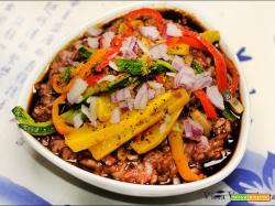 Congee di riso rosso integrale thailandese