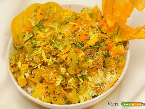 Porridge di riso integrale Ribe in giallo