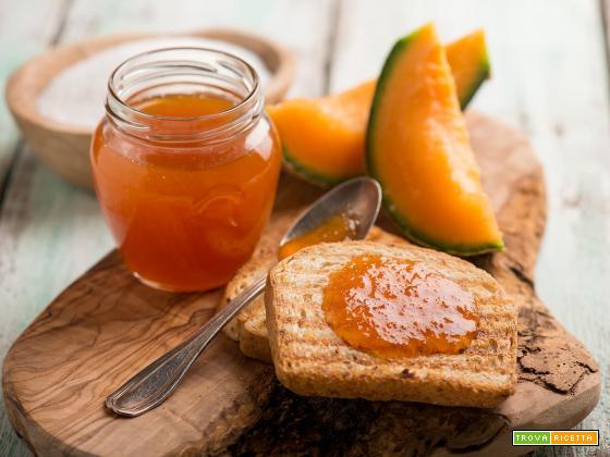 Confettura di melone giallo, ottima per le colazioni